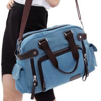 2012 handbag one shoulder cross-body rivet women's canvas bag women's handbag vintage casual women's handbag