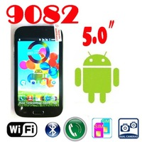 by dhl or ems 20 pieces 2013 HOT New note 2 Android 4.0 n9082 7100 9500 5.0 inch capacitive screen MTK6515 1GHz Smart Phone WIFI