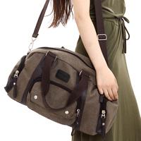 Female fashionable casual women's handbag canvas bag shoulder bag messenger bag female bag big