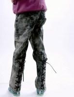 Aimy children's clothing 2.8 mdash . hot-selling classic girls clothing denim pencil pants 0913
