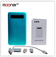 USB Port +Micro USB Port 4000 mAH Power Bank Protable External Battery for Mobile Phone/MP4/iPhone/iPad/GPS Nevigation DA0455