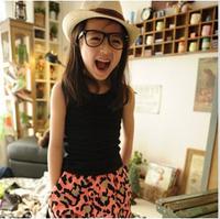 2013 female child summer vest spaghetti strap top