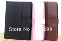 Frees shipping hot selling 8 colors Leather Case Flip Pouch stand with Holder for 7 inch Tablet PC