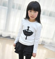 2013 spring female child children's clothing all-match ruffle short skirt bust skirt s3020