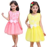 Children's clothing summer 2013 child one-piece dress female child princess dress baby yarn puff skirt