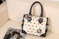 2014 navy style handbag messenger bag fashion vintage women bag Free shipping!
