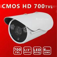 HD1000TVL 2Leds ARRAY 30m IR distance Color Day/Night Indoor/Outdoor security CMOS With IR-cut CCTV Camera