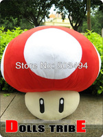 Super mario Mushroom RED Stuffed Dolls Plush Toys 8 inch Super Mario Mushrooms Free shipping
