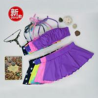 Spa tube top lovers female bikini swimwear small mm bikini