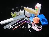 Nail art tools manicure set nail art set finger repair plier dead skin scissors 16 piece set