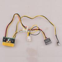 DC-DC ATX mini power supply, DC to DC Mini ITX PSU Module/Convertor+expansion cables PSU_12V100W-Y1 for mini PC