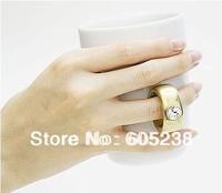 4pieces/ lot  Elegant Crystal Diamond 2 Carat Ring Ceramic Cup
