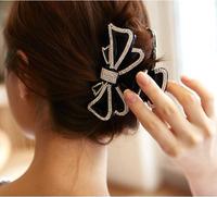 FREE SHIPPING Korean style acrylic hair clip hair claws new fashion hair clamp rhinestone hair accessories for women HC01321