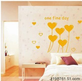 Wall stickers sofa wall stickers ofhead love balloon