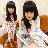 2012 autumn - female child fancy lounge underwear child set t2007
