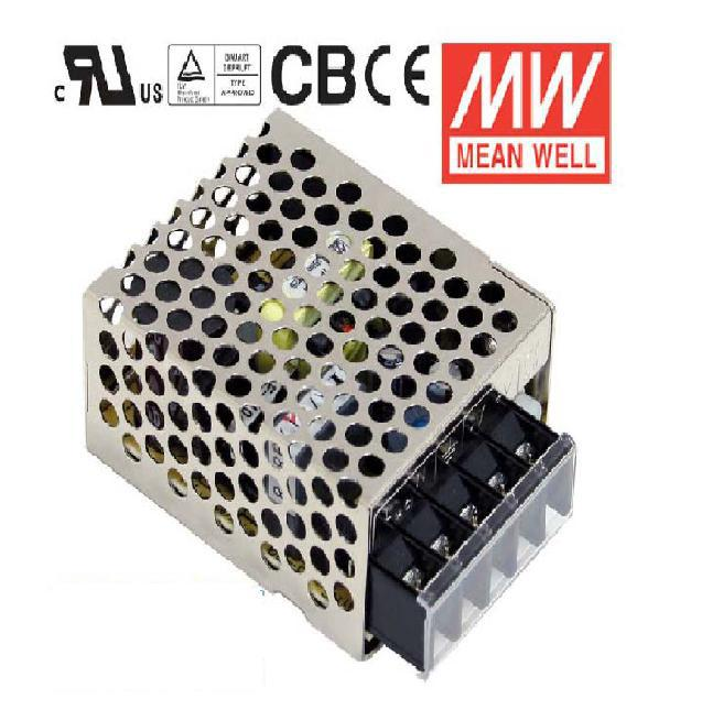 MEANWELL MEAN WELL RS-15-24 15W 24V Output Switching Power Supply RS-15 Series(China (Mainland))