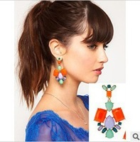 Min.order is $10 (mix order).Hollow out droplets exaggerated earrings.welcome to buy