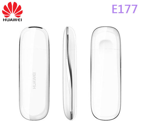DHL/EMS free shipping New arrived Unlocked wireless modem Huawei E177 plug and play USB 7.2mbps network(China (Mainland))