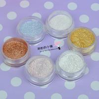 free shipping 12pcs Blingbling 3d diamond eye shadow glitter eye shadow powder hihglights powder glitter