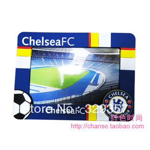 The high-quality goods !Fa premier league chelsea pvc soft vertical frame football photo frame fans photo frame photo frame