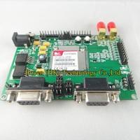 Free shipping SIM908 GPS GPRS development board with GSM Antenna(SMA),GPS Antenna(SMA),Power Pack 5V 2A,Serial line