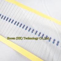Free shipping Metal Film Resistor Assorted Kit 1/4W 1% resistance 25 Values (200 Ohm ~4.3K Ohm) 50PCS each value,total 1250PCS