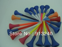 1000pieces/lot 54mm long rubber top plastic golf tees