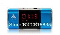 CN 1pc Hi-Rice SD-818 Mental Music Speaker LED diaplay+FM Radio+Alarm Clock dual Speaker U-disk TF/Micro SD Speakers 5 colors