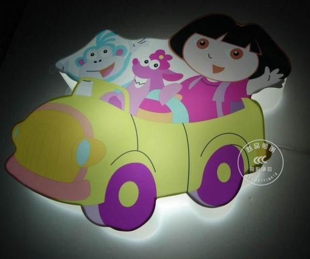 Dora wall lamp child light child cartoon decoration lamp lighting lamps(China (Mainland))