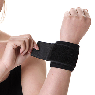 Thermal tourmaline self-heating wrist support breathable thin warm(China (Mainland))