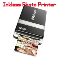 Free EMS Shipping Portable Rapid Bluetooth Inkless Photo Printer Battery Supplied USB PictBridge Mobile Thermal Printer