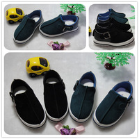 Shoes 2013 fashion male child nubuck leather casual shoes female child soft outsole single shoes plate shoes