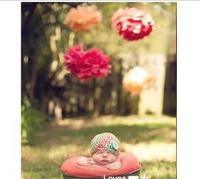 "New 30Pcs 4"" Tissue Paper Pom Pom Mix Color Flower Balls Party Wedding Deco"