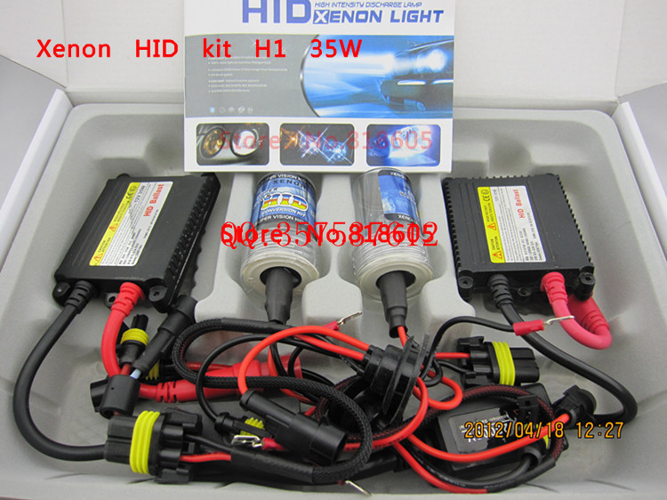 Xenon HID kit H1 H3 H4 H8 H4 H7 H11 single beam HID AUTO CAR lamp HID KIT 12v 35w color 3000k,4300k,6000k,8000k,10000k,12000k b(China (Mainland))
