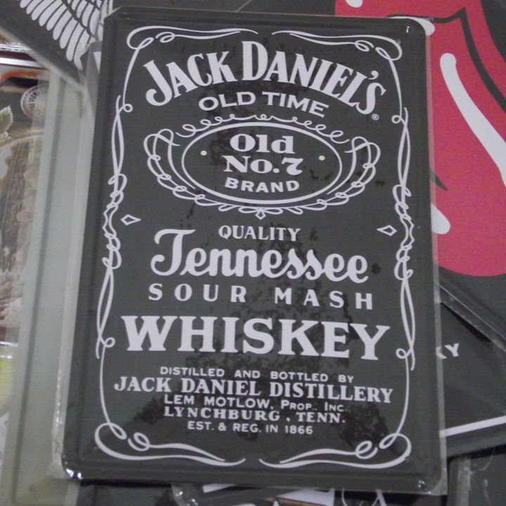 [ Mike86 ] Jack Daniels Vintage Metal signs House Restaurant Bar Whisky Poster Metal painting Mix order 20*30CM Free