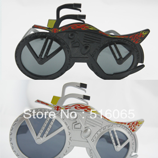 Motorcycle veerlive party glasses personalized party supplies fashion popular new type props(China (Mainland))
