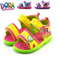Dora baby toddler sandals 2013 child sandals female child sandals slip-resistant princess sandals