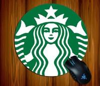 Anime Starbucks Coffe New Logo The mermaid princess Mouse Pad Mouse Mat