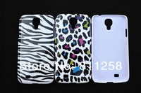 20pcs/lot, Leopard Chrome Hard Case Cover for Samsung Galaxy S4 i9500, Free Shipping