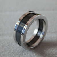 Free shipping!! Wholesale Platinum plated Titanium steel ring  SR149WB