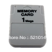 Free Shipping 200pcs/lot Brand new 1MB Memory Card For Sony Playstation One PS1 PSX Game 1 MB Fast Shipping