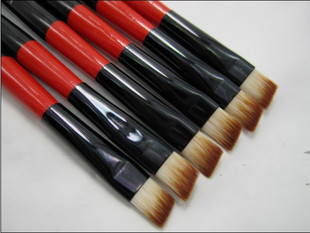 free shipping Sallei 819 cosmetic brush eyebrow brush angled eye shadow brush(China (Mainland))