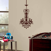 Doodle wall stickers bedroom wall stickers bathroom wall stickers luxury pendant light wall stickers 85cm*48