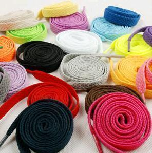 BUY 2 GET 1 FREE Causal Sports Coloured Shoelaces Shoe Laces