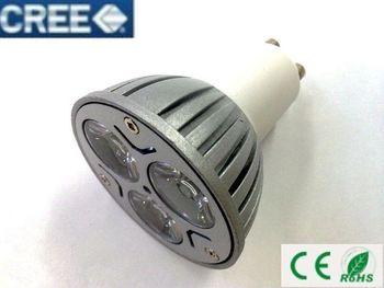 AC85V-265V Dimmable 3W 9W LED GU10 High Power spotlight down light Lighting lamp White warm LS49 A+