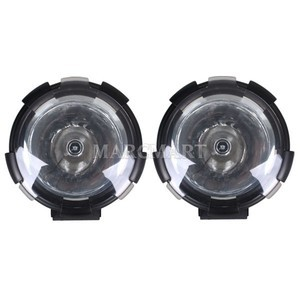 2X 9 32V 55W HID Xenon Spot Light 4300LM 3 2A Fire Engine Train Boat Road Roller(China (Mainland))