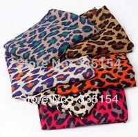 2014 Women Leopard Scarf Big Size Shawl Women Linen Scarf Scarf Wholesale 6colors 5pcs/lot FREE SHIPPING