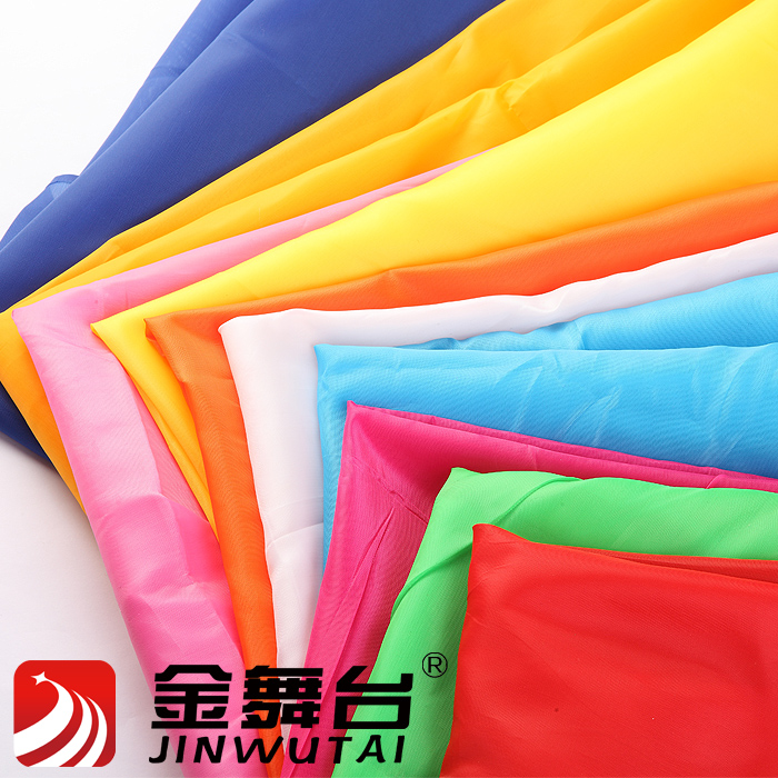 170t taffeta red silk flags ribbon flower mircofabric fabric wedding supplies(China (Mainland))
