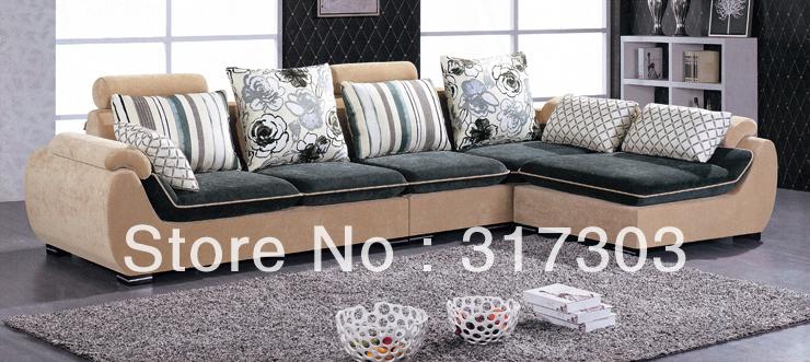 morden fabric L shape sofa, corner sofa , colorful sofa, factory wholesale, best quality,livingroom furniture 2188(China (Mainland))