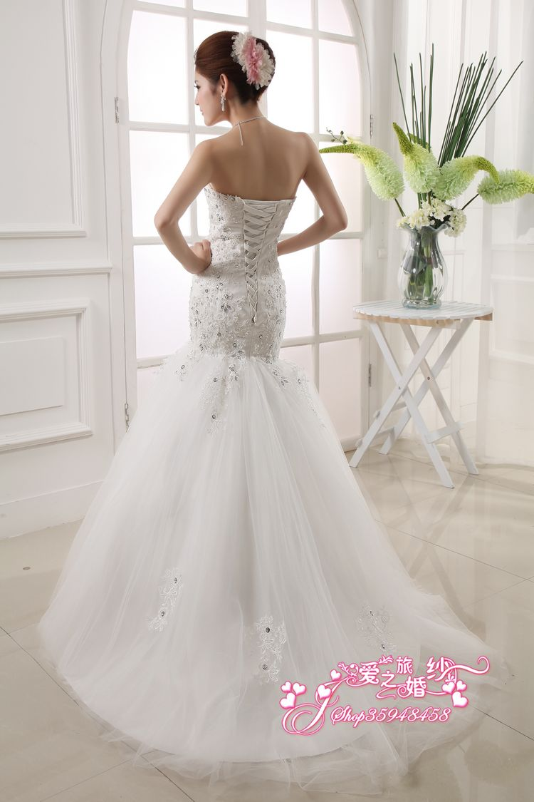 Free Shipping 2013 New Flower Designer One Shoulder Organza Wedding Dresses Boutique Bridal Gown Retail/Wholesale HSX951(China (Mainland))
